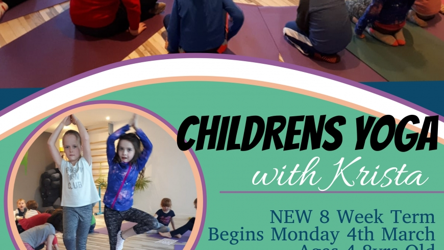 Kids Yoga- Start Date 4th March 2019