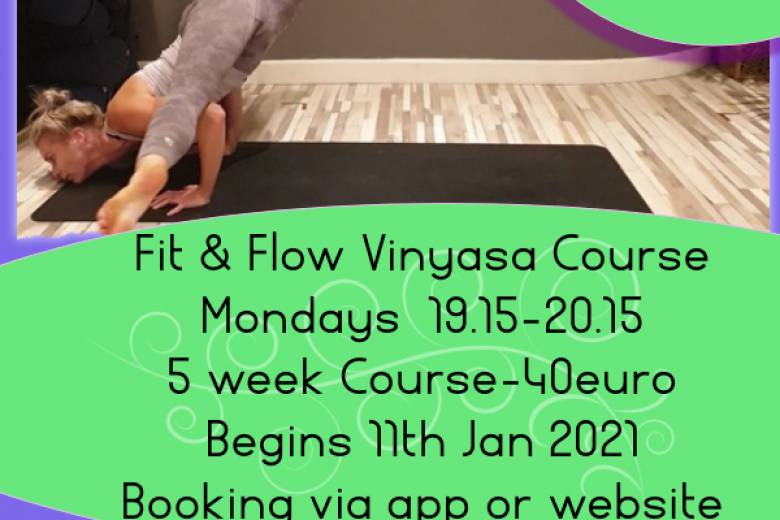 Fit & Flow Vinyasa Yoga 5 Week Course with Orla
